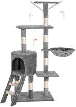 TecTake Dominik Krabpaal - Grijs - 144 cm