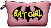 Zumprema Batgirl - Make-up Etui - Roze