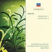 Mahler: Symphonies Nos  1 & 3