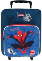 Marvel Spiderman Ultimate - Kinderkoffer - 35 cm - Blauw