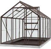 ACD serre 'Intro Grow Lily' polycarbonaat & aluminium antraciet 6,2 m²
