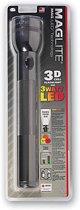 MagLite 3D-cell - LED Staaflamp - Aluminium - Zwart - incl. 3 stuks Duracell Industrial batterijen D size