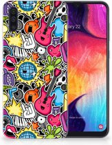 Samsung Galaxy A50 TPU Hoesje Punk Rock