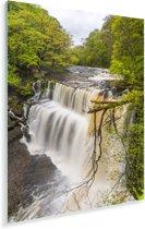 Woest watervallen in de rivieren in het Engelse Nationaal park Brecon Beacons Plexiglas 80x120 cm - Foto print op Glas (Plexiglas wanddecoratie)