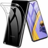 Samsung Galaxy A51 Hoesje TPU Back Cover - Transparant