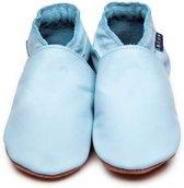 Inch Blue babyslofjes plain baby blue maat L (13,5 cm)