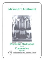 Meditation 2 Op20 Communion