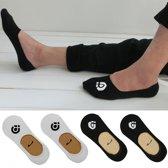 FrontRunner secret socks   4 paar zwarte sokken in maat 39-42