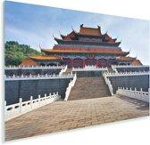 Tempel midden in Beijing Plexiglas 30x20 cm - klein - Foto print op Glas (Plexiglas wanddecoratie)