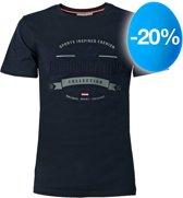 Heren T-shirt Domburg  -  Donkerblauw