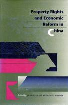 Property Rights and Economic Reform in China