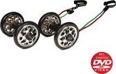 Gymstick Power Wheelz buikspierwielen met DVD