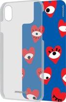 mmoods transparent cover met 1 insert Beauty geek -  voor iPhone X/Xs