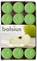 Bolsius Geurkaars Geurtheelicht 4 uur doos 30 groen Apple