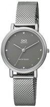 Q&Q Mooi dames horloge -zilverkleurig QA21J232Y