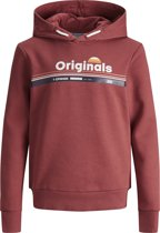 JACK&JONES JUNIOR Jongens Sweater - Brick Red - Maat 164