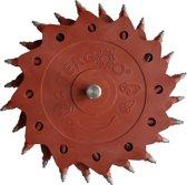 Tercoo Roterende Straler - Triple Disk - Schuurmachine - Schuurpapier - Verf Verwijderen