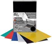 schutbladen ProfiOffice A4 280 micron 100 stuks zwart