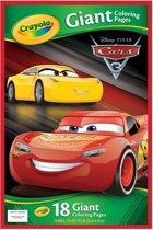 Crayola Reuze kleurplaten - Cars 3