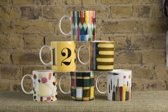 Pantone Eames Office Drinkbeker - Set van 6 stuks