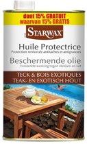 Starwax beschermende olie 'Teak- & Exotisch Hout' 1 L