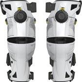 Mobius X8 Knie Brace White/Acid Yellow-S