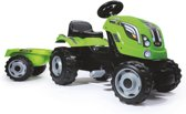 Smoby Nowy traktor XL zielony 710111