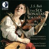 Bach: Six Sonatas for Violin & Harpsichord Vol 1 / Comberti