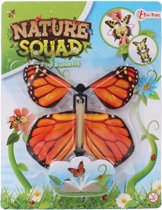 Toi-toys Nature Squad Opwindbare Vlinder 12 Cm Oranje