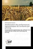 Am lioration Des Performances Agronomiques Du Carthame Par Priming