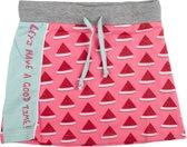 Birds by D-RAK-meisje-rok-meloen-kleur: roze -maat 104