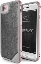 X-Doria Defense Lux cover - grijs - voor iPhone 7 en iPhone 8