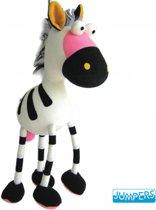 Wiebeldier Jumper Zebra Kleur: Zwart-wit