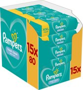 Pampers Fresh Clean 1200 Stuks - Billendoekjes