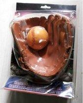 Honkbalhandschoen + Bal