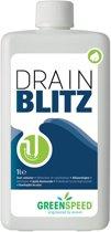 5x Greenspeed by ecover ontstopper Drain Blitz, flacon van 1 liter