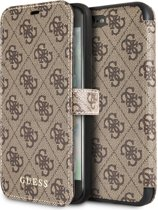 Guess Book Cover do iPhone 7 Plus/8 Plus brÄ…zowy
