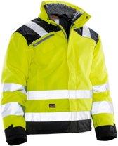 Jobman 1346 Winter Jacket Star Kl3 Geel/Zwart maat XS