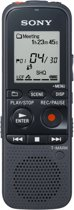 Sony ICD-PX333D - Digitale Voicerecorder - 4 GB - Zwart