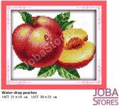 """Borduur Pakket """"JobaStores®"""" Fruit 05 11CT voorbedrukt (26x23cm)"""