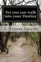Yes You Can Walk Into Your Destiny