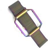 NedRo RVS bandje - Fitbit Blaze - Rainbow