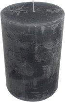 Grijze Stompkaars (20 x 10 cm)