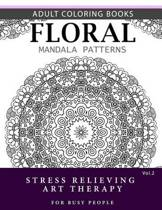 Floral Mandala Patterns Volume 2