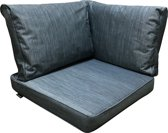 Madison kussen voor Loungeset - Waterproof kussenset 3-Delig