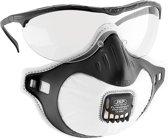 JSP Filterspec mondkap en veiligheidsbril combo FMP2V