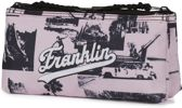 Etui Franklin & Marshall. Girls roze 10x21x6 cm