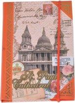 "Notitieboekje ""Londen"" – Oranje"