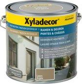 Xyladecor Ramen & Deuren - Dekkende Houtbeits - Leem - 2,5L