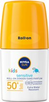 NIVEA SUN Kids Zonnebrand - Protect & Sensitive Roll-on - SPF 50+ - 50 ml